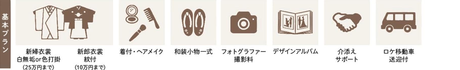 慶徳公園 和装ロケーションプラン
